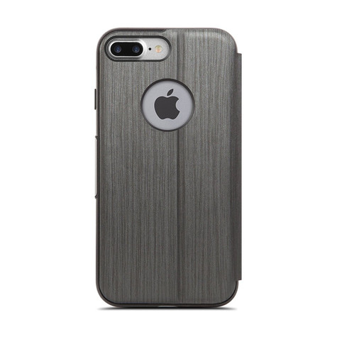 various colors ddbab 14a86 Moshi SenseCover Case iPhone 8+/7+ Plus - Steel Black