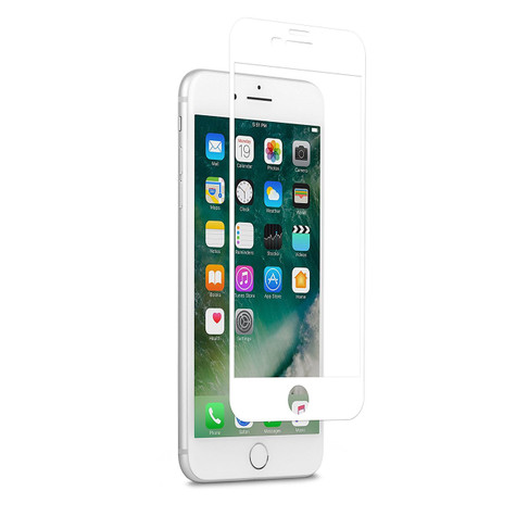 Moshi IonGlass Glass Screen Guard iPhone 7+ Plus - White