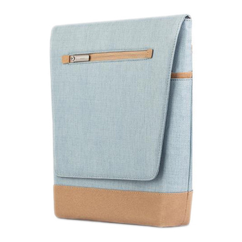 "Moshi Aerio Lite Bag for up to 12"" Laptop/iPad - Sky Blue"