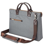 "Moshi Urbana Briefcase 13""- 15"" laptops + iPad - Mineral Grey"