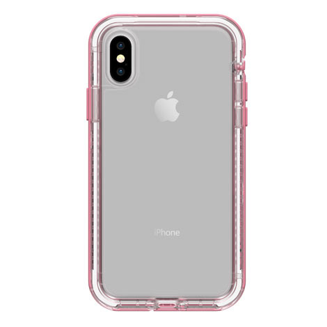 pretty nice c35f5 165d0 LifeProof NEXT Case iPhone X/Xs - Clear/Rose