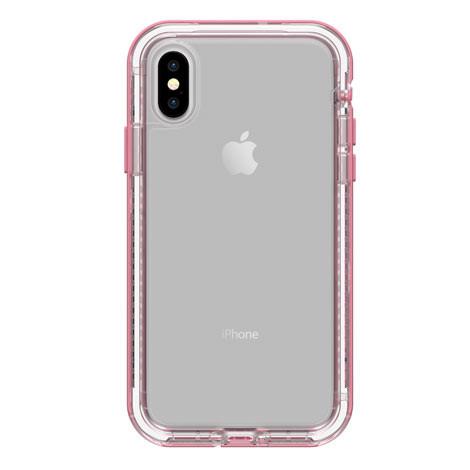 pretty nice f33a3 ebfa0 LifeProof NEXT Case iPhone X/Xs - Clear/Rose