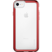 Pelican ADVENTURER Case iPhone 8 - Clear/Metallic Red