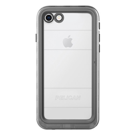 Pelican MARINE Case iPhone 8/7 - Black/Clear