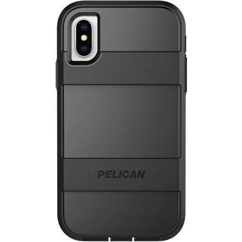 Pelican VOYAGER Case iPhone X - Black