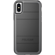 Pelican PROTECTOR Case iPhone X - Black/Grey