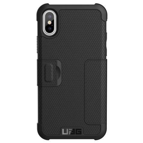 on sale 9f0d6 bfea5 UAG Metropolis Folio Wallet Case iPhone X/Xs - Black