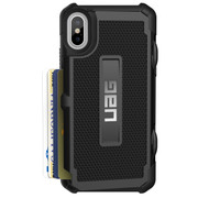 UAG Trooper Card Wallet Case iPhone X/Xs - Black