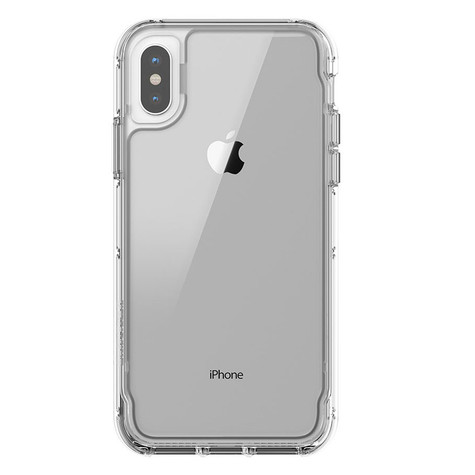 low priced a7cf6 b3cf6 Griffin Survivor Clear Case iPhone X - Clear