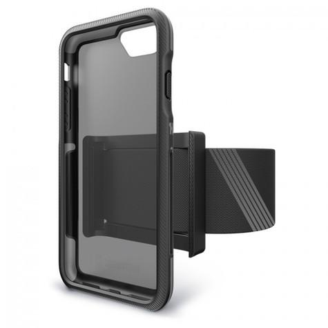 BodyGuardz Trainr Pro Unequal Case iPhone 8+/7+/6+/6S+ Plus - Black/Grey