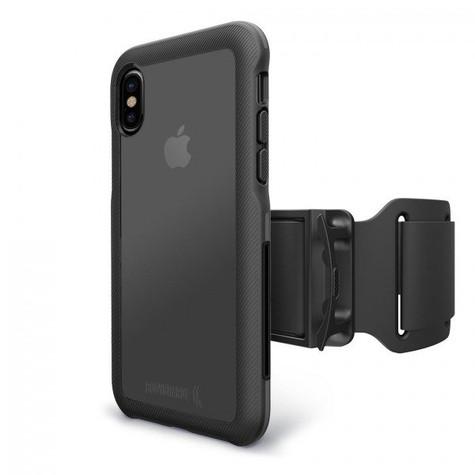 BodyGuardz Trainr Pro Unequal Case iPhone X - Black/Grey