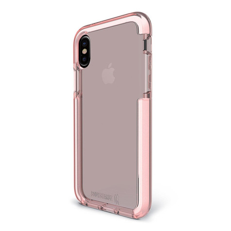 BodyGuardz Ace Pro Unequal Case iPhone X - Pink/White