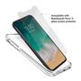 BodyGuardz Ace Pro Unequal Case iPhone X - Clear/Clear