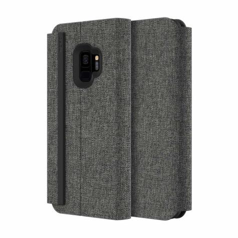 Incipio Esquire Folio Case Samsung Galaxy S9 - Grey