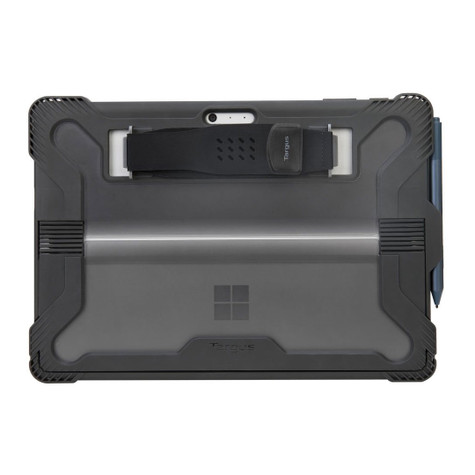 Targus SafePort Case Microsoft Surface Pro 6/Pro (2017)/Pro 4 - Grey/Black