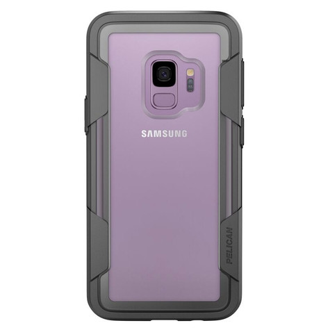 new arrivals c32fe 00af3 Pelican VOYAGER Case Samsung Galaxy S9 - Clear/Grey