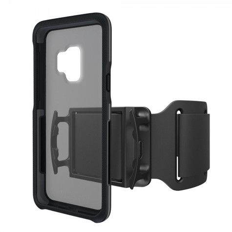 BodyGuardz Trainr Pro Case Samsung Galaxy S9 - Black/Grey
