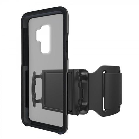 BodyGuardz Trainr Pro Case Samsung Galaxy S9+ Plus - Black/Grey