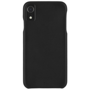 Case-Mate Barely There Leather Case iPhone XR - Black