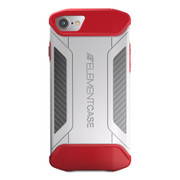 Element CFX Case iPhone 8/7 - White/Red