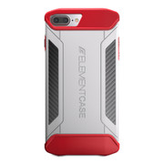 Element CFX Case iPhone 8+/7+ Plus - White/Red