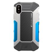Element Formula Case iPhone X - Grey/Blue