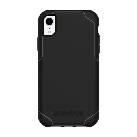 reputable site 5b390 86407 Griffin Survivor Strong Case iPhone XR - Black