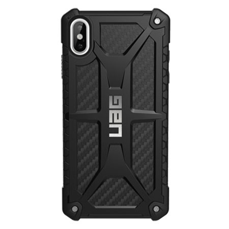 buy popular 10fd1 b3f98 UAG Monarch Case iPhone Xs Max - Carbon Fibre