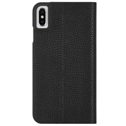 Case-Mate Barely There Folio Case iPhone Xs Max - Black