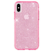 Case-Mate Sheer Crystal Case iPhone X/Xs - Blush