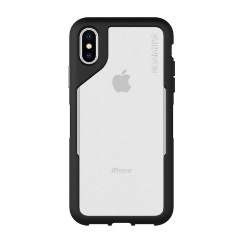 Griffin Survivor Endurance Case iPhone X/Xs - Black/Grey