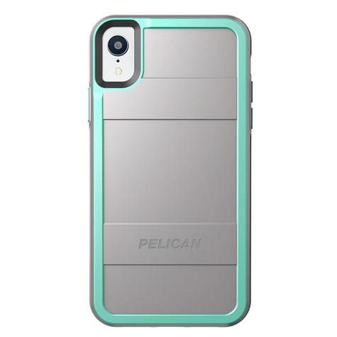 Pelican PROTECTOR Case iPhone XR - Grey/Teal