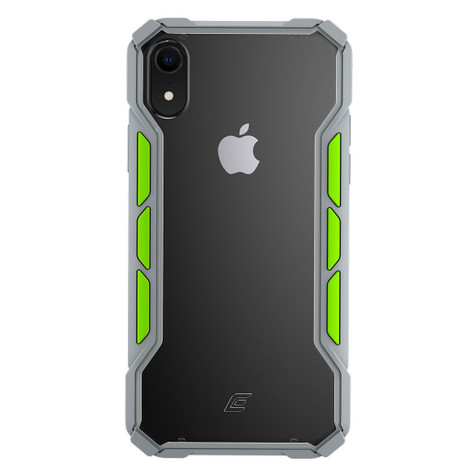 Element Rally Case iPhone XR - Light grey/Lime