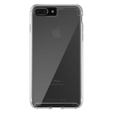 new style e7f45 a713f Tech21 Pure Clear Case iPhone 8+/7+ Plus - Clear