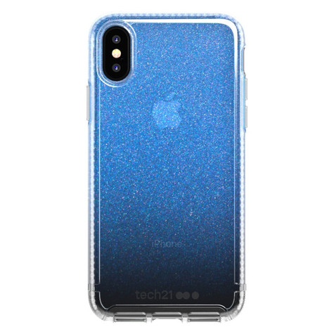 sports shoes e4931 507ef Tech21 Pure Shimmer Case iPhone X/Xs - Blue