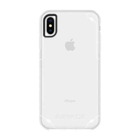 check out bb3cc 36447 Griffin Survivor Strong Case iPhone Xs Max - Clear
