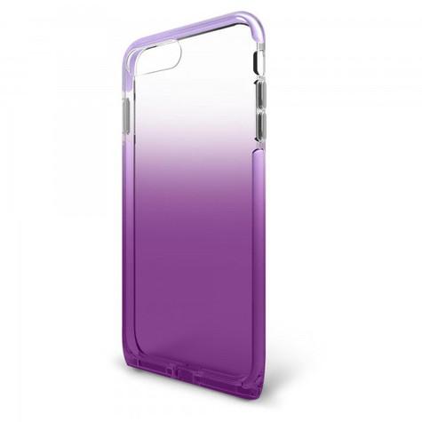 BodyGuardz Harmony Unequal Case iPhone 8+/7+/6+/6S+ Plus - Clear/Purple