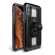 BodyGuardz SlideVue Case iPhone X/Xs - Smoke/Black