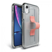 BodyGuardz SlideVue Case iPhone XR - Clear/Pink