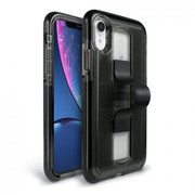 BodyGuardz SlideVue Case iPhone XR - Smoke/Black