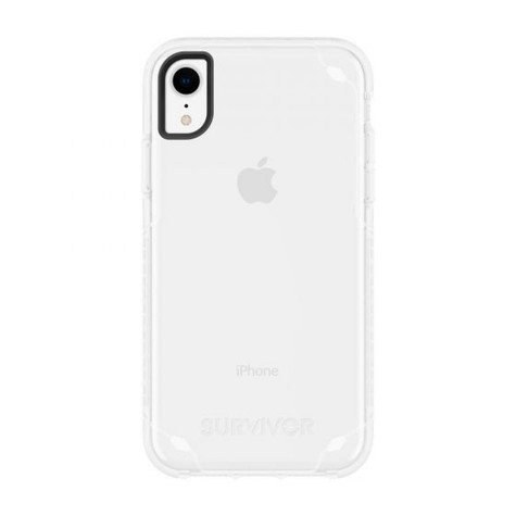 new style 20906 618ce Griffin Survivor Strong Case iPhone XR - Clear