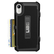 UAG Trooper Card Wallet Case iPhone XR - Black