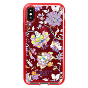 Tech21 Pure Print Liberty Christelle Case iPhone Xs Max - Red