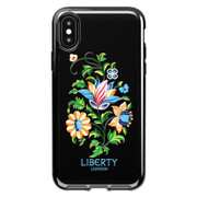 Tech21 Pure Print Liberty Margot Case iPhone Xs Max - Black