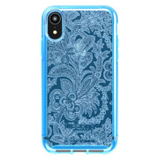 Tech21 Pure Design Liberty Grosvenor Case iPhone XR - Blue