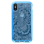 Tech21 Pure Design Liberty Grosvenor Case iPhone X/Xs - Blue