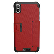 UAG Metropolis Folio Case iPhone Xs Max - Magma