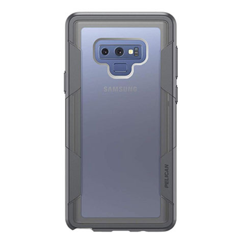 cheap for discount 1d6ef 2eb58 Pelican VOYAGER Case Samsung Galaxy Note 9 - Clear/Grey