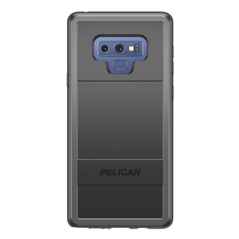 info for d1514 6c4ce Pelican PROTECTOR Case Samsung Galaxy Note 9 - Black/Grey