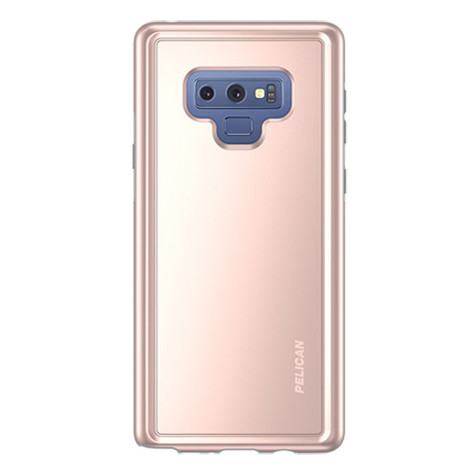 hot sale online abcfb 3d520 Pelican ADVENTURER Case Samsung Galaxy Note 9 - Rose Gold/Grey